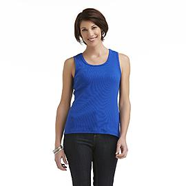 Laura Scott Women's Rib Knit Tank Top at Sears.com