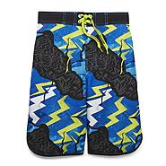 Boy's Swim Trunks - Zigzag