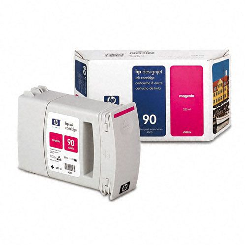 HP  C5062A (HP90) Inkjet Cartridge, Magenta