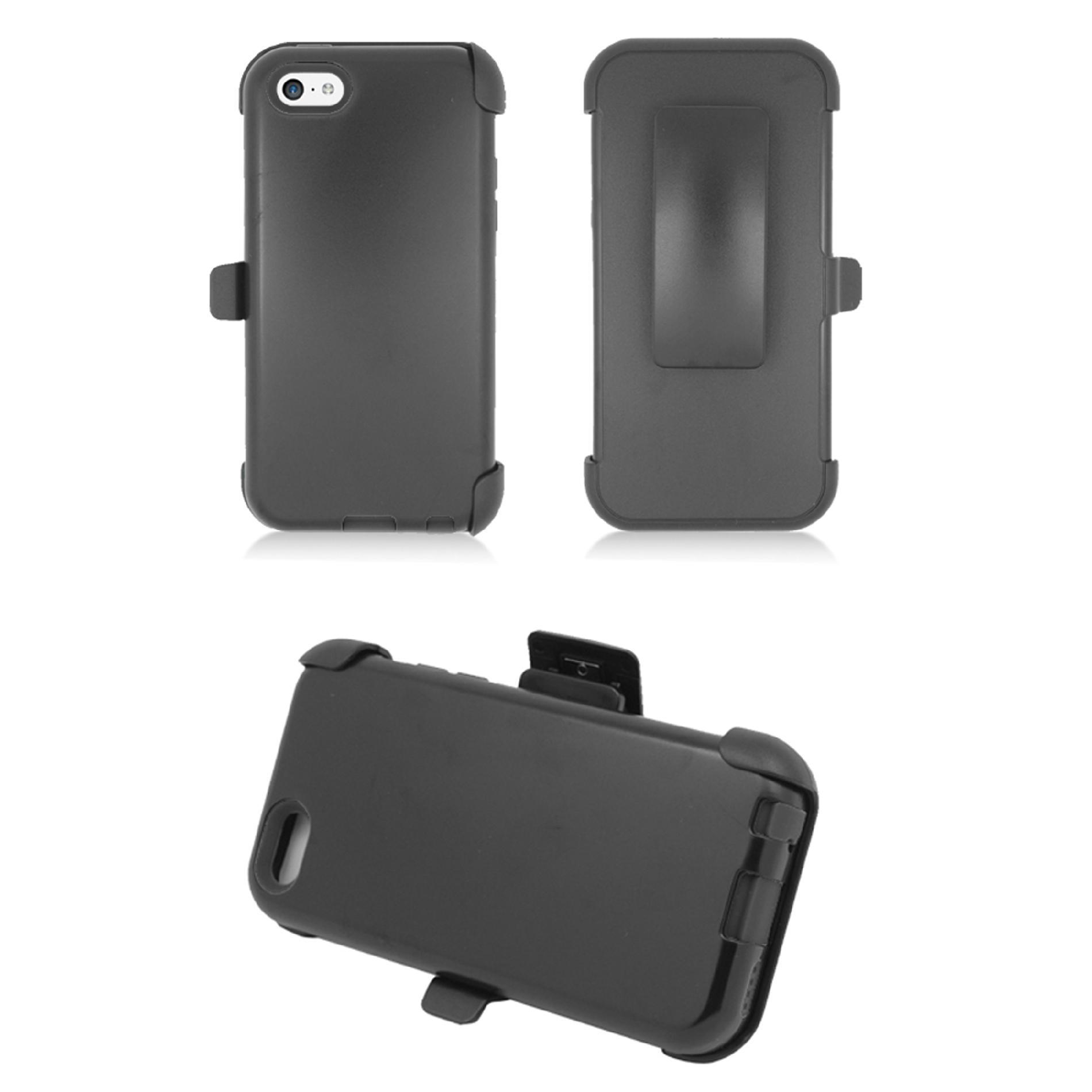 KTA 3784 iPhone 5C Rubber Case and Holster, Black at Kmart.com