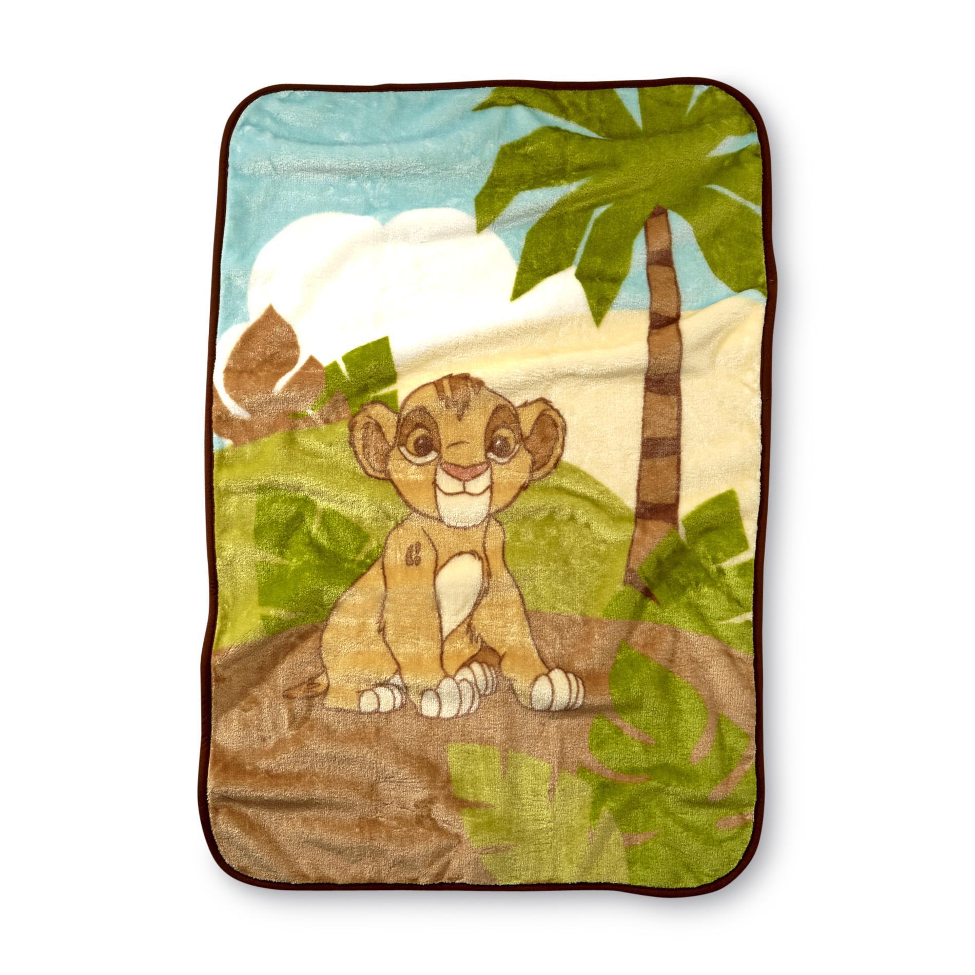 Disney Infant's Lion King Plush Blanket PartNumber: 024W005716664001P KsnValue: 5716664 MfgPartNumber: 5090225