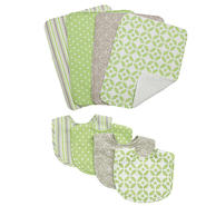 Trend Lab Lauren Bib & Burp Cloth Set at Kmart.com
