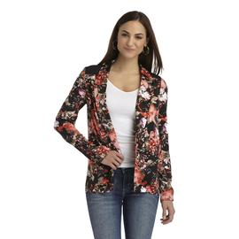 Metaphor Women's Open-Front Blazer - Floral at Sears.com