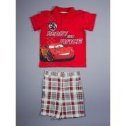 Disney Baby Cars Infant & Toddler Boy's Polo Shirt & Shorts - Lightning McQueen at Sears.com