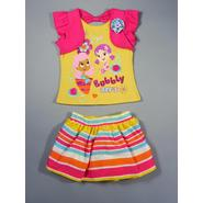 Nickelodeon Bubble Guppies Toddler Girl's Shrug Top & Skort - BFF's at Sears.com