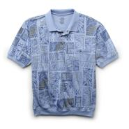 David Taylor Collection Men's Big & Tall Jersey Polo Shirt - Batik at Sears.com