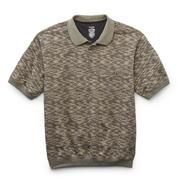 David Taylor Collection Men's Big & Tall Jacquard Knit Polo Shirt at Sears.com