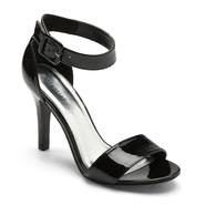Attention Women's Raven Black Ankle Strap Heel at Kmart.com
