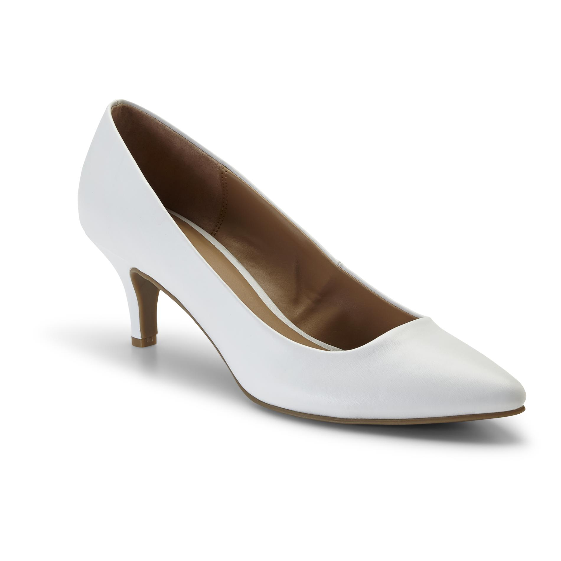 Women's Zoey White Dress Shoe