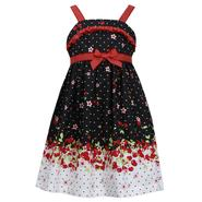 Ashley Ann Girl's Sleeveless Dress - Cherry Print at Sears.com