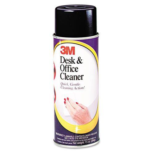 3M  Desk and Office Spray Cleaner, 15oz
