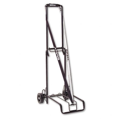Stebco STB390002BLK 125-lb. Capacity Luggage/Dolly Cart