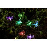 Essential Garden Solar Dragonfly String Lights 20 Ct at Kmart.com