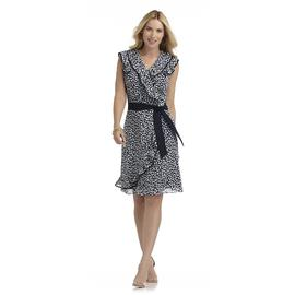 JBS Women's Wrap Dress - Mosaic Print at Sears.com
