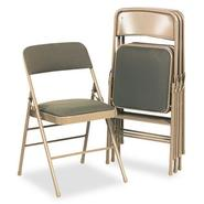Bridgeport Deluxe Fabric Padded Seat and Back Folding Chair at Kmart.com
