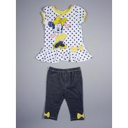 Disney Baby Minnie Mouse Infant & Toddler Girl's Top & Jeggings - Polka Dots & Bows at Sears.com