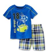 Kids Headquarters Toddler Boy's T-Shirt & Shorts - All-Sport at Sears.com