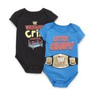 WWE Newborn Boy's 2-Pack Short-Sleeve Bodysuits at Kmart.com