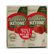 GENCEUTIC NATURALS Raspberry Ketone plus Green Tea BONUS PACK - 60 Vcaps Each / Pack of 2 at Kmart.com