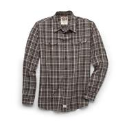 Wrangler Men's Big & Tall Button-Front Shirt - Plaid at Kmart.com