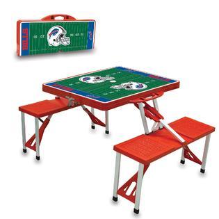 Picnic Time Picnic Table Sport - Buffalo Bills