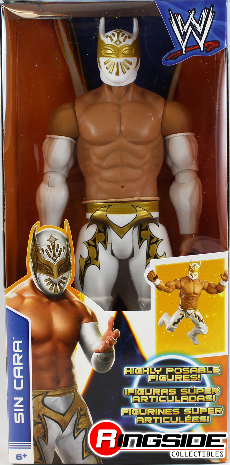 Sin Cara - WWE 12-Inch Figures Toy Wrestling
