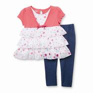WonderKids Infant & Toddler Girl's Dress & Leggings - Stars at Kmart.com