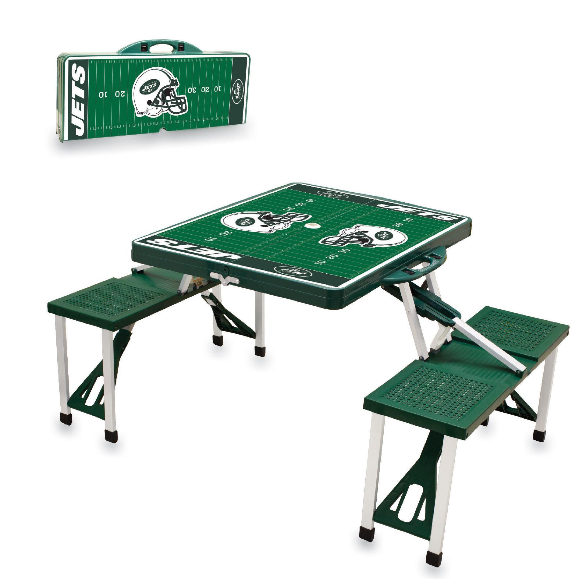 Picnic Time Picnic Table Sport - New York Jets PartNumber: 00664913000P KsnValue: 7309923 MfgPartNumber: 811-00-121-225-2