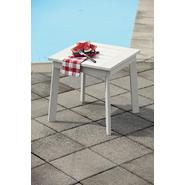 Garden Oasis Adirondack Faux Wood Side Table White at Kmart.com
