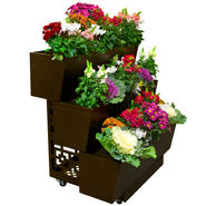 MOBILEGRO Portable 3 Tier Garden Planter - Modern Design at Kmart.com