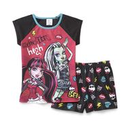 Monster High Girl's Shorts Pajamas - BFF at Kmart.com