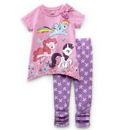 My Little Pony Toddler Girl's Top & Leggings - Floral Print at Kmart.com