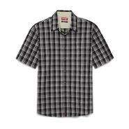 Wrangler Men's Short-Sleeve Button-Front Shirt - Plaid at Kmart.com