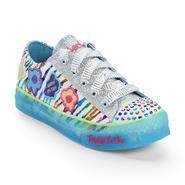 Skechers Girl's Twinkle Brites Dizzy Daisy Glittered Multicolor Light-Up Sneaker at Sears.com