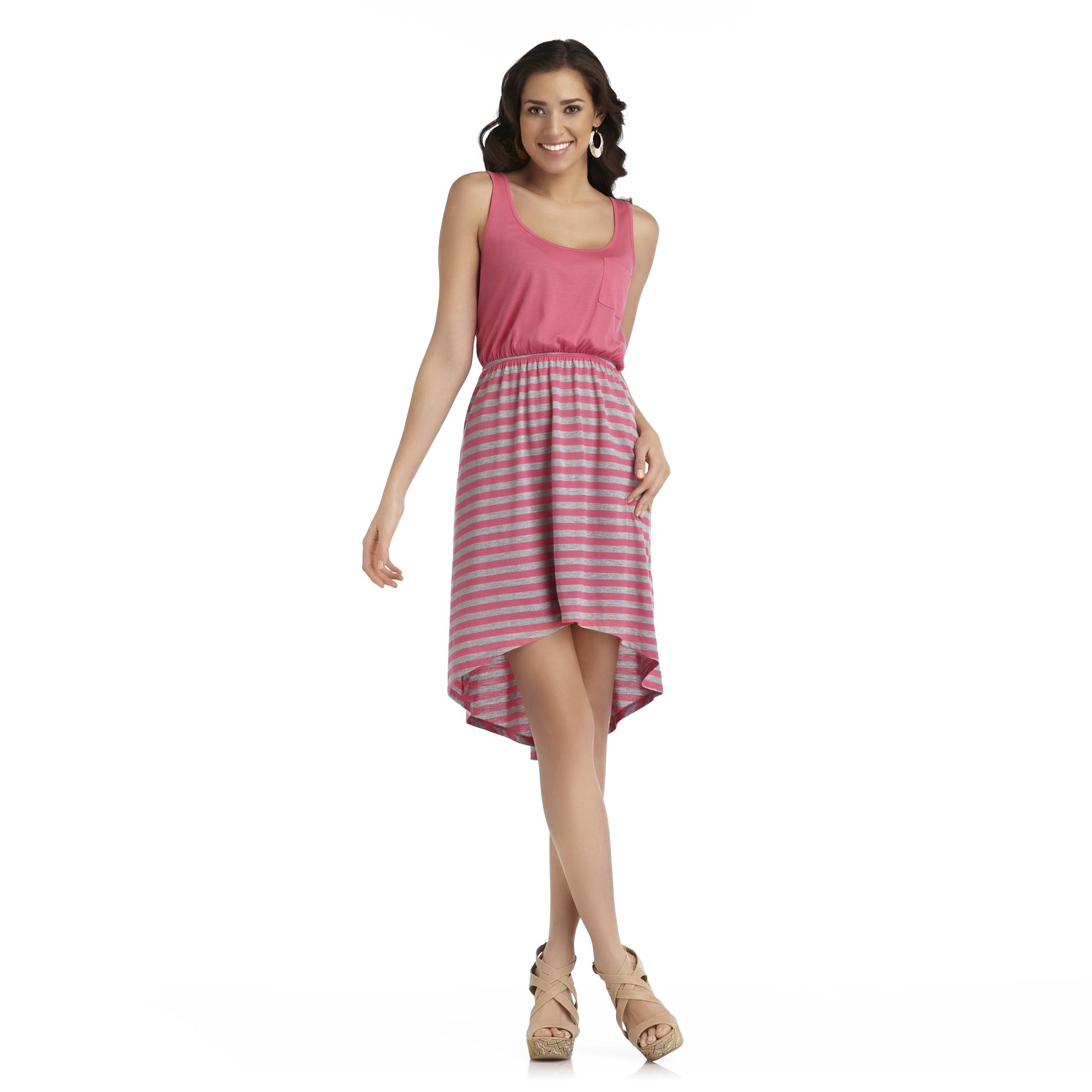 Joe by Joe Boxer Women's High-Low Tank Dress - Striped Skirt at Sears.com