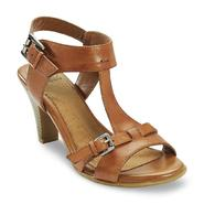 I Love Comfort Women's Arleen Tan Leather Open-Toe Slingback Heel at Sears.com