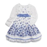 Youngland Infant & Toddler Girl's Dress & Shrug - Floral at Sears.com