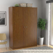 Essential Home Belmont Storage Cabinet - Walnut at Kmart.com