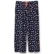 Disney Women's Cropped Pajama Pants - Mickey & Hearts at Kmart.com
