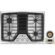 "Kenmore Elite 30"" Downdraft Gas Cooktop, Stainless Steel at Kenmore.com"