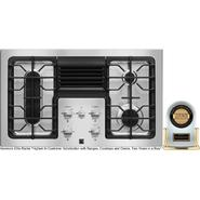 "Kenmore Elite 36"" Downdraft Gas Cooktop, Stainless Steel at Kenmore.com"