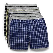 Fruit of the Loom Men's Underwear Package of 5 Expandable Waist Boxer Multicolor at Sears.com