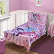My Little Pony 4-Piece Toddler Girl's Bed Set at Kmart.com