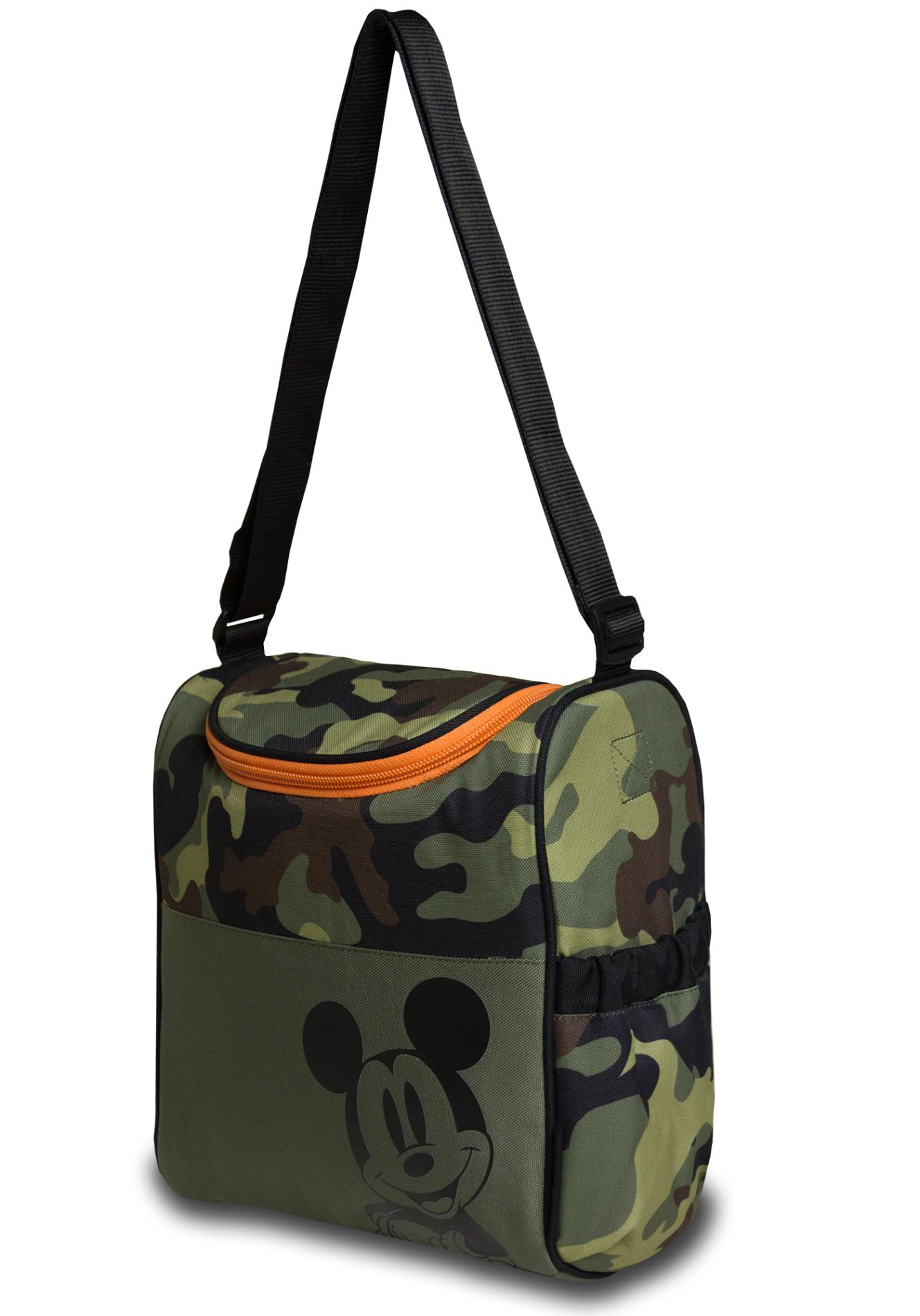 Tender Kisses Mickey Mouse Insulated Diaper Bag - Camouflage
