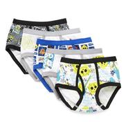 Nickelodeon Boy's Underwear 5pk Brief SpongeBob White/Yellow at Kmart.com