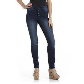 True Freedom Junior's Zohara Button Fly Skinny Jeans at Sears.com