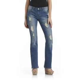 True Freedom Junior's Distressed Slim Bootcut Jeans at Sears.com