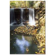 "Trademark Fine Art Kurt Shaffer 'Autumn Falls' 16"" x 24"" Canvas Art at Kmart.com"