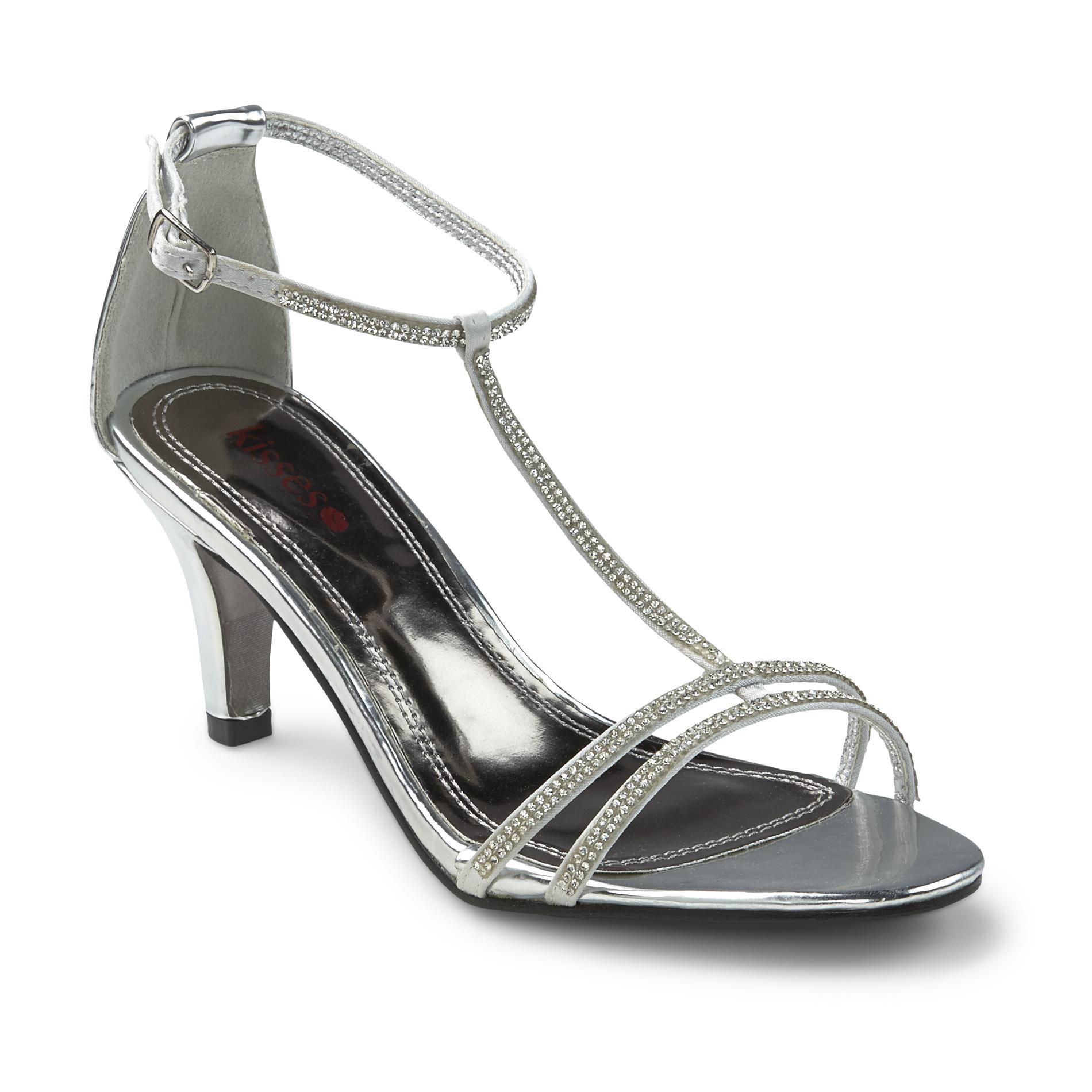 Women's Too Eventful Silver High Heel Dress Shoe