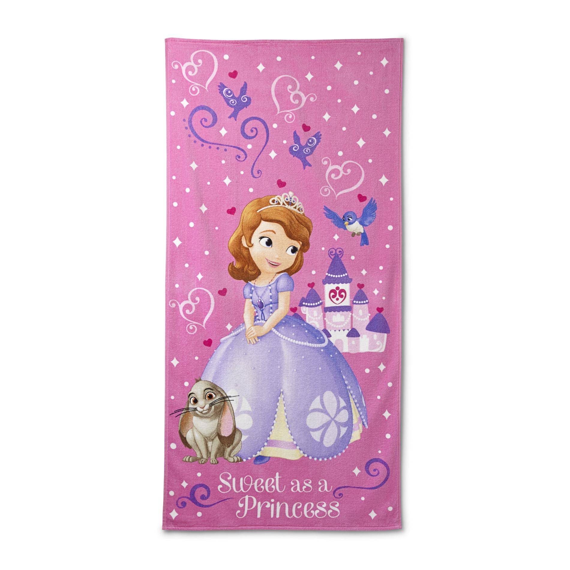 Princesses Beach Towel - Sofia The First